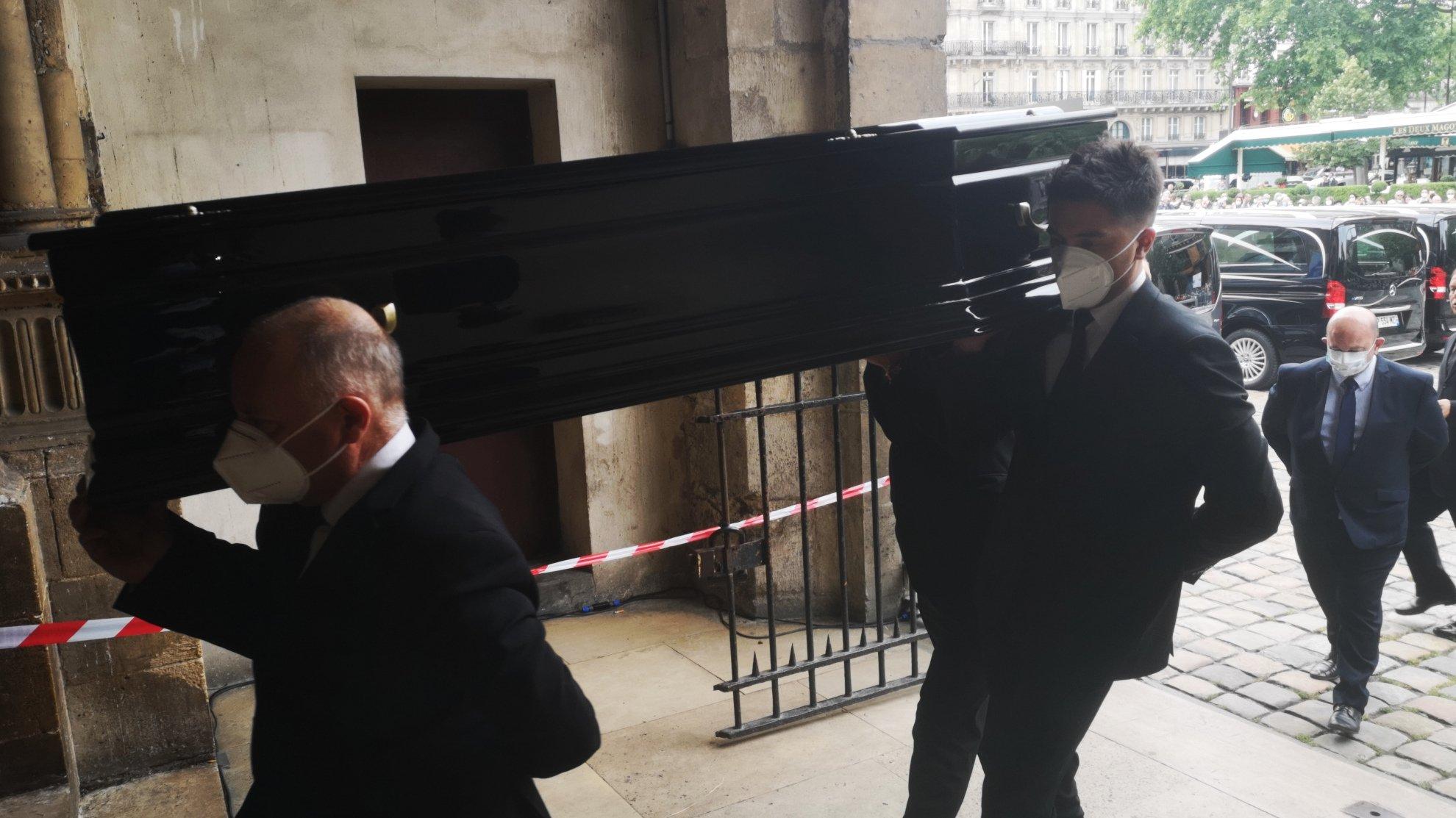 Guy BEDOS cercueil BERNIER