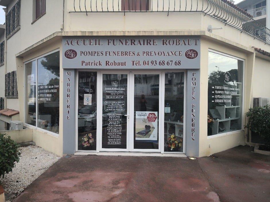 Accueil Funéraire ROBAUT France Obsèques Cannes