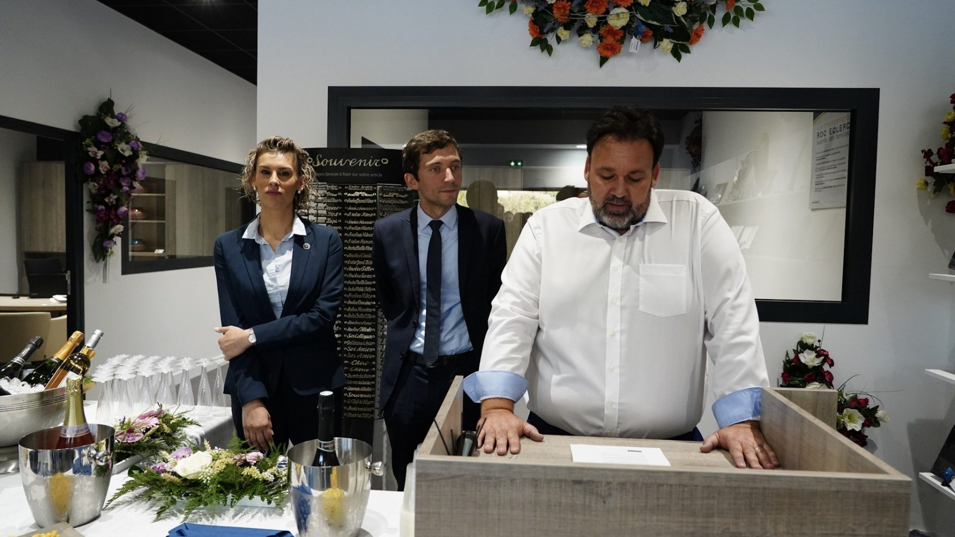 agence ROC ECLERC Beaucaire inauguration